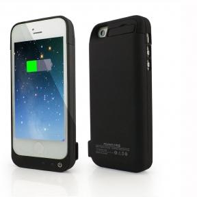 Чехол с батареей для iPhone 5/5S/5C/SE 4200 Mah (Black)