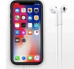 Чехол С Аккумулятором Для Iphone X/ Iphone 10 Black - 5000 Mah - Audio