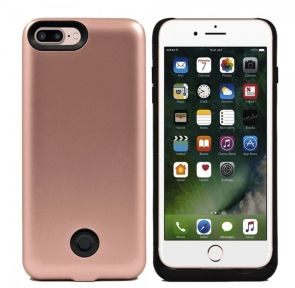 Чехол аккумулятор для iPhone 7 Plus 9000 мач - POWER PACK (GOLD PINK)