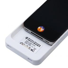 Индукционное Беспроводное Зарядное Устройство Qi Приемник Для Iphone 4/4S