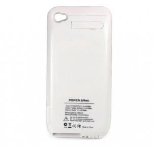 Чехол Батарея На 3000 Мач Для Iphone 4,4S, Белый