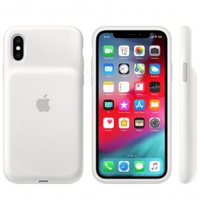 Чехол-аккумулятор Apple Smart Battery Case White для iPhone XS