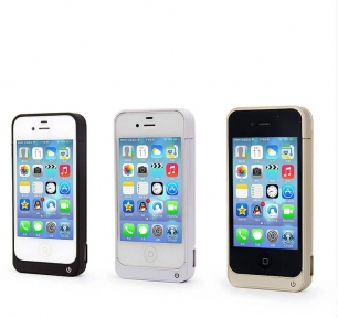 Чехол Аккумулятор Iphone 4/4S 4000Mah White