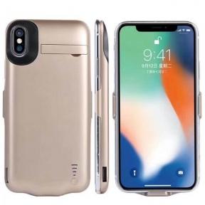 Чехол Батарея Для Iphone 10/ Iphone X Gold