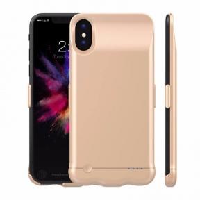 Чехол Аккумулятор iPhone 10/ iPhone X Gold