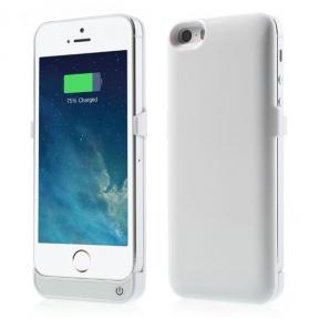 Чехол - Дополнительная Батарея Для Iphone 5/5S 2400 Mah Ультра Тонкий
