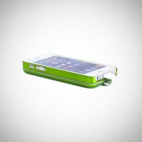 Чехол С Аккумулятором Для Iphone 5/5S 2800Mah Magnetic Battery Case Green