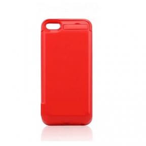 Чехол с аккумулятором для iPhone 5/5S/5C 4200 Mah (Red)