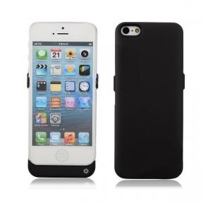 Чехол-Зарядка Для Iphone 5/5S 2400Mah Black Ультра Тонкий