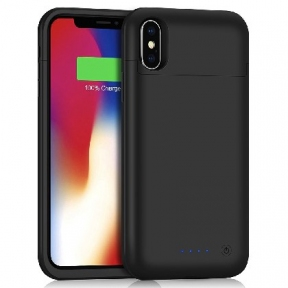 Чехол Battery Case Iphone X 5200 Mah Black