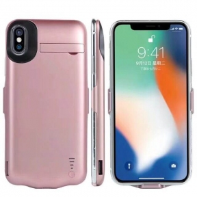 Чехол Батарея Для Iphone 10/ Iphone X Pink Gold