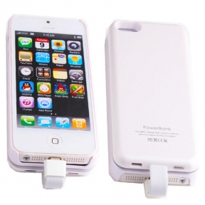 Чехол С Батареей Iphone 5/5S, Magnetic-Белый
