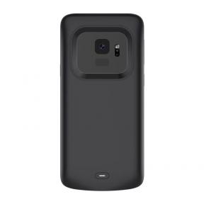 Чехол аккумулятор для Samsung S9 4700 mah black