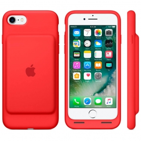 Чехол-Батарея Apple Smart Battery Case (Product) Red Для Iphone 7