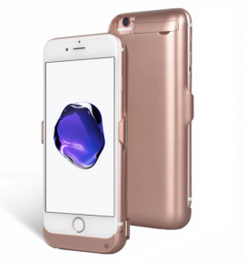 Чехол Зарядка Для Iphone 8 Rose Gold -7000 Mah Battery Case Apple