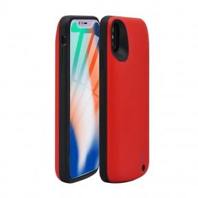 Чехол зарядка Power Case для iPhone Xs Max - 10000mAh красный