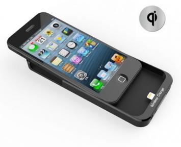 Чехол Для Беспроводного Зарядного Устройства Qi Для Iphone 5/5S