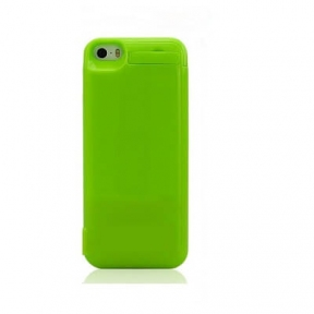 Чехол с аккумулятором для iPhone 5/5S/5C 4200 Mah (Green)