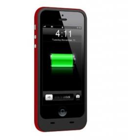 Чехол с батареей iPhone 5/5S/SE (2500 Mah) Red