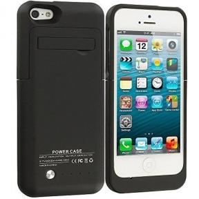 Чехол с дополнительной батареей для iPhone 5/5S/ Se- 3200 Мач