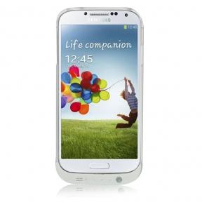 Чехол Усиленный С Дополнительной Батареей На 4500 Мач Для Samsung Galaxy S4
