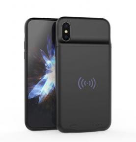 Lux Battery Case Wireless - Чехол Для iPhone X 3600 Mah с беспроводной зарядкой Black