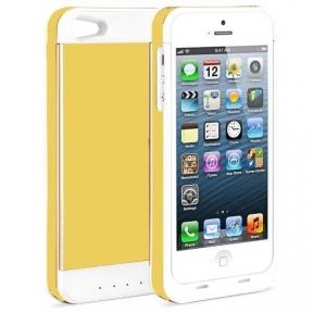 Чехол Аккумулятор Для Iphone 5S 3500 Mah Gold