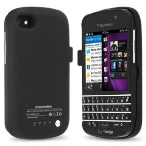 Чехол С Дополнительной Батареей Для Blackberry Q10 3300 Мач