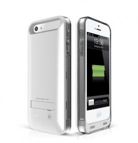 Чехол Зарядка Для Iphone 5/5S 2400 Mah Ifans Silver