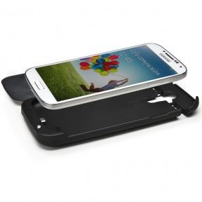 Чехол - Flip С Батареей Для Samsung Galaxy S4 (3200 Мач)
