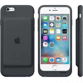 Чехол-Батарея Apple Smart Battery Case (Product) Black Для Iphone 6