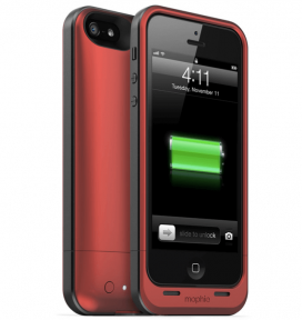 Mophie Juice Pack Air Для Iphone 5S Red 1700 Mah