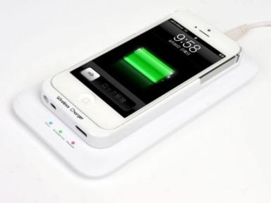 Беспроводная Зарядка Для Iphone 5/5S В Комплекте
