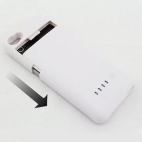 Чехол Аккумулятор Для Iphone 4/4S 1900Mah Белый