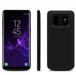 Чехол Батарея Для Samsung S9 Plus 6000 Mah Black
