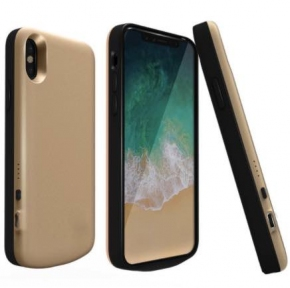 Чехол зарядка для iPhone 10/ iPhone X 6800 mah Gold