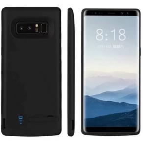 Чехол зарядка для Samsung Galaxy Note 8 6500 мач black