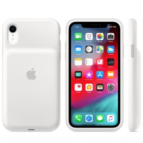 Чехол-аккумулятор Apple Smart Battery Case White для iPhone XR