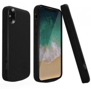 Чехол зарядка для iPhone 10/ iPhone X 6800 mah black
