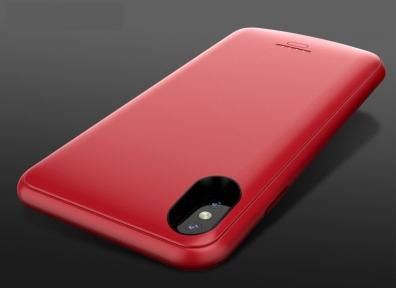 Чехол зарядка Power Case для iPhone XR - 5000mAh - red