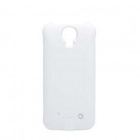 Чехол С Батареей Белый Для Samsung Galaxy S4 Тонкий (3300 Мач)