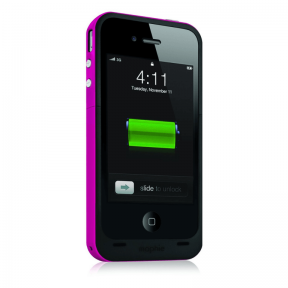 Mophie Juice Pack Plus Чехол Аккумулятор Для Iphone 4/4S Розовый