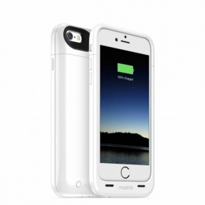 Чехол Батарея Mophie Juice Pack Air Для Iphone 6 Белый (2750Mah)
