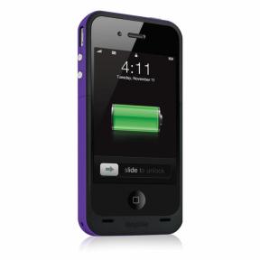 Mophie Juice Pack Plus Чехол Аккумулятор Для Iphone 4/4S Фиолетовый