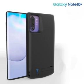 Чехол батарея для Samsung Galaxy Note 10+ 6000 mah Black