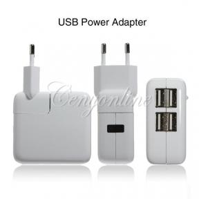 Зарядное – Адаптер На 4 Usb Порта