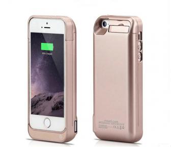 Чехол С Аккумулятором Для Iphone 5/5S/5C 6500 Mah (Gold)