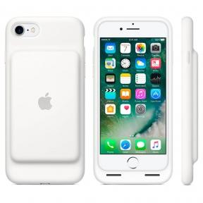 Чехол Батарея Smart Battery Case Для Iphone 7- White