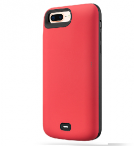 Чехол зарядка для iPhone 6S Plus / 7 Plus / 8 Plus 8000 mah Red