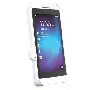 Чехол С Дополнительной Батареей Для Blackberry Z10 Белый На 3300 Мач